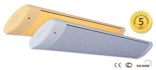Infrazářič PION Classic 06 - 600 W, bílý, bez světelného spektra