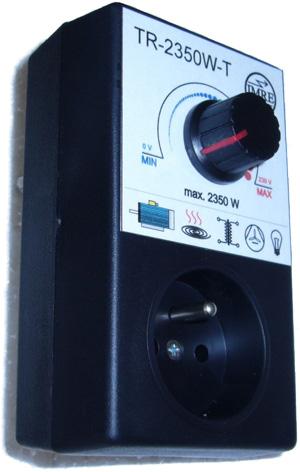 Regulátor výkonu - triakový pro infrazářiče