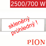 PION Thermo Glass PN 25/07 - 2500/700W