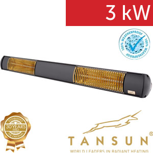 Infrazářič TANSUN Bahama 3 kW
