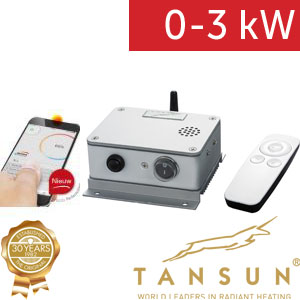 Tansun regulace bluetooth 3 kW