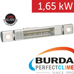 Infrazářič - Burda TERM 2000 L&H, 1,65 kW,  Ultra LOW GLARE, var.