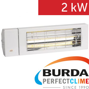 Infrazářič - Burda SMART IP24