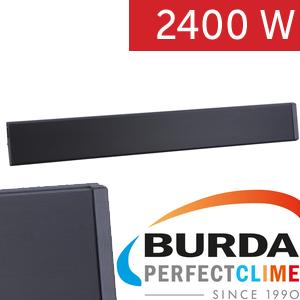 infrazářič BURDA RELAX DARK IRC IP55 2400 černý