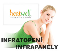 infratopení Heatwell infrapanely