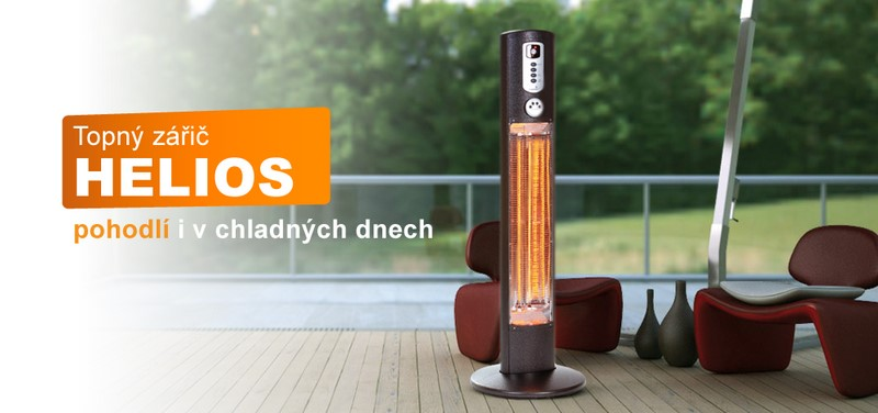 helios infrazářič Warmwatcher
